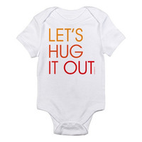 Let's Hug It Out - Baby Bodysuit - FREE SHIPPING