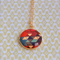 Mini Art Locket The Color Study II Alyson Fox Design