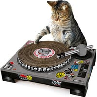 DJ CAT SCRATCH TURNTABLE