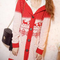 X'mas Sweet Hooded Sweater $56.00