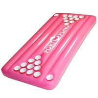 Floating Pool Beer Pong Table, Pink