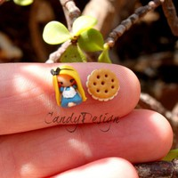 Alice In Wonderland, Stud Earring on Luulla