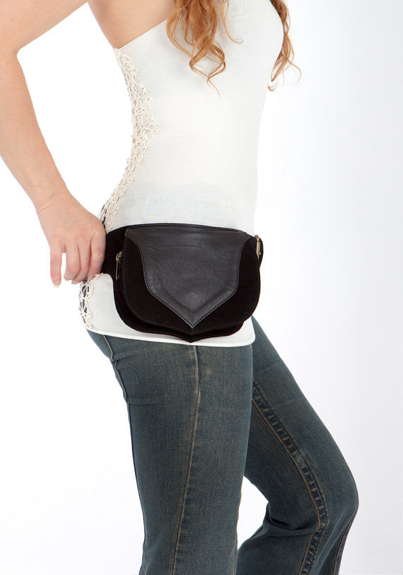 Awesome Road Warrior Leather Hip Bag And Thigh Bag Understated Style Unique