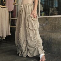 Bring Me To The Moon  Steampunk Maxi Flare Hand by beyondclothing