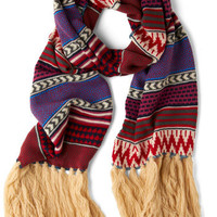 Fringe 'Til the End Scarf | Mod Retro Vintage Scarves | ModCloth.com