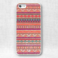 iPhone 5 Case, iPhone 4 Case, iPhone 4S Case, iPhone Case  - Printed Aztec Glitter - 175