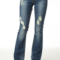 Unionbay Destructed Bootcut Jean
