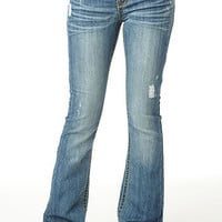 Vanilla Star Destructed Bootcut Jean