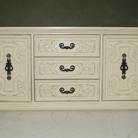 Romantic Veranda Ivory Dresser by autumnrollick on Etsy