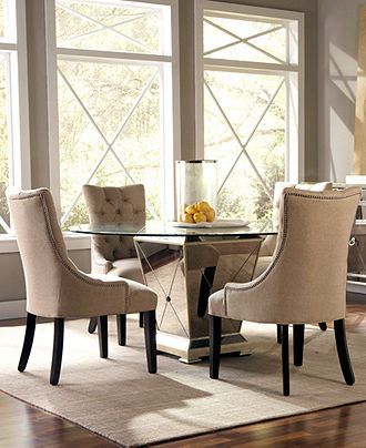 Marais dining room furniture collection from macy39s home for Macys dining room chairs