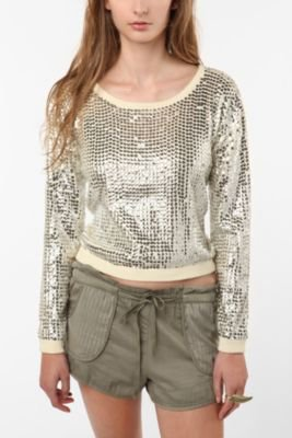 UrbanOutfitters.com > PJ by Peter Jensen Sequin Sweater