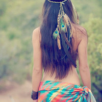 gaia's daughter... bohemian headdress