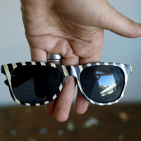 The Original Wood veneer sunglasses // Peewee Herman Inspired Wayfarers