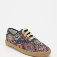 UrbanOutfitters.com &gt; Tapestry Plimsoll Sneaker