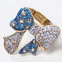 The Heaven&#x27;s To Betsey Bow Stretch Ring