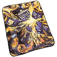 Doctor Who Exploding TARDIS Throw