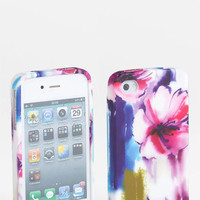 Design Lab &#x27;Matte Floral&#x27; iPhone 4 &amp; 4S Case | Nordstrom