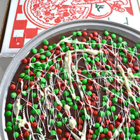 Chocolate Pizza Pie Candy