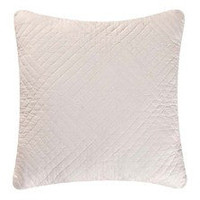 Hampton White Quilted Throw Pillow | Atlantic Linens