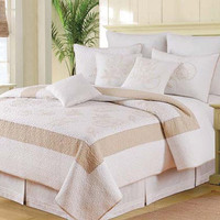 Atlantic Shells Standard Bedding Set | Atlantic Linens