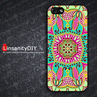 New apple iphone 5 case iphone 5 cover iphone 5 cases Beautiful Multicolour Flowers pattern Design