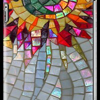Star Flower,  photography of shiny mosaic - JUSTART � iPhone & iPod Ca