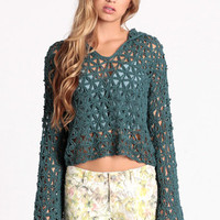 Long Summer Nights Hoodie By Free People - $148.00: ThreadSence, Women's Indie & Bohemian Clothing, Dresses, & Accessories
