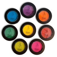 Hair Color Chalk Temporary Hair Color, 7 Colors , Salon Kit / Retail Kit