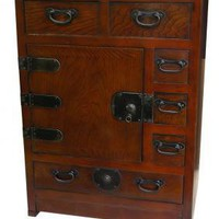 Tall Headside Chest - OrientalFurniture.com