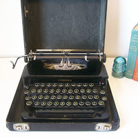 1930s LC Smith &amp; Corona Silent Typewriter with by DeidresRedos