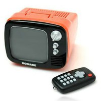 Mini TV Retro Colorful Alarm Clock by Julyjoy