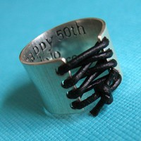 Custom Corset Ring | Spiffing Jewelry