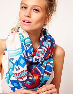 ASOS Aztec Snood at asos.com