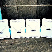 Fun Mini Mustache Necklace - save 50% for limited time (until 10/6)