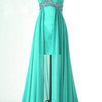 A-line chiffon ball gowns Bridesmaid Dress Evening Prom Dress