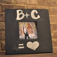 Chalkboard Frames - Wooden, Hand-made, Hand-painted - 5x5
