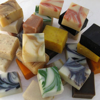 24 Half Bar Handmade Organic Soap Sampler Set