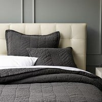Herringbone Quilt + Shams | west elm