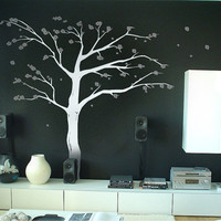8ft Cherry Blossom Tree vinyl wall decal by ExpressionsWallArt