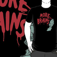 More Brains !!!!  by OBEY ZOMBIE