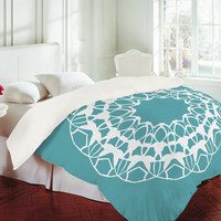 DENY Designs Home Accessories | Karen Harris Mod Medallion Aqua Duvet Cover