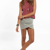 Pull It Together Mini Skirt $25