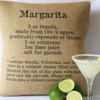 Classic Cocktails Pillow Covers by betsyjarvis on Etsy