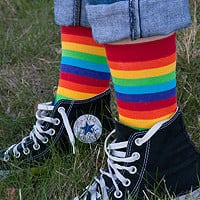 Socks  Socks  Rainbow Midcalves  Sock Dreams