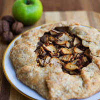 Apple Walnut Gorgonzola Rustic Tart     Recipe | Simply Recipes