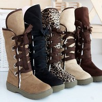 5 COLORS HOT Fashion Women&#x27;s Girls Winter Warm Snow Boots Shoes All Size