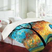 DENY Designs Madart Inc. Aqua Burn Duvet Cover Collection