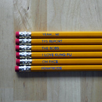 Pencil Set Office Space by oneupdesigns on Etsy