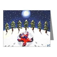 Snow Angel Note Cards (Pk of 20)> Greeting Cards Post Cards Note Cards> Renie Britenbucher Artwork
