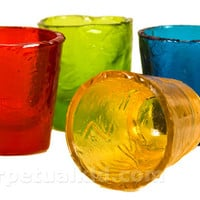 FRUIT FLAVORED HARD CANDY SHOT GLASSES